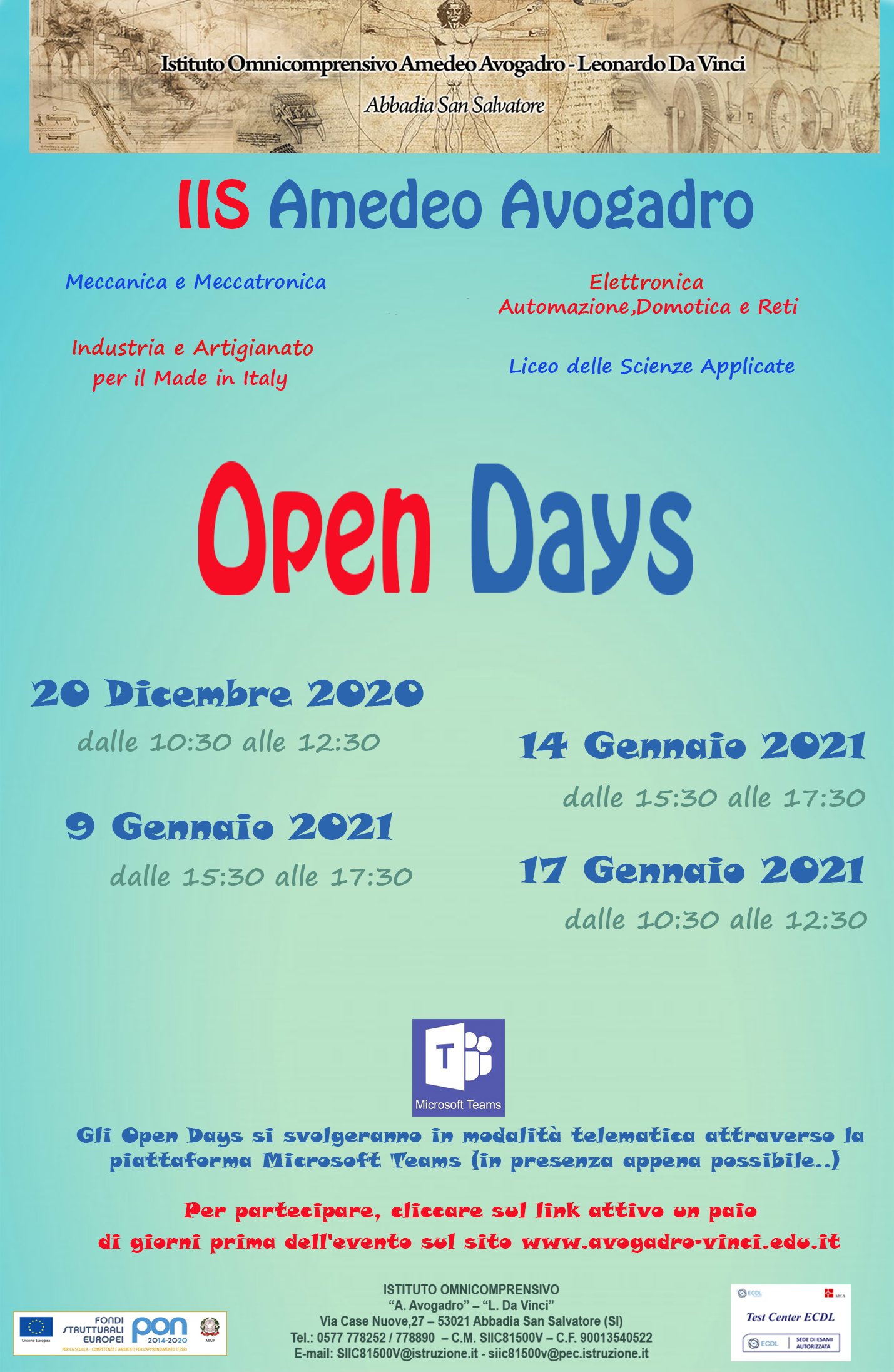 Open Day (con logo) Verticale